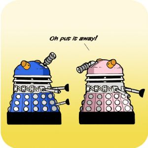 Daleks Funny Table Coaster